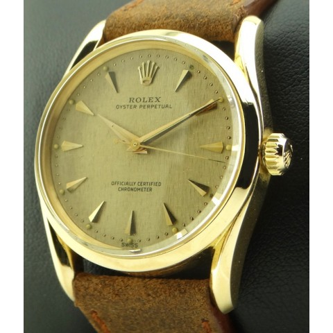 Bombay 18kt rose gold, ref.6590 from year 1956