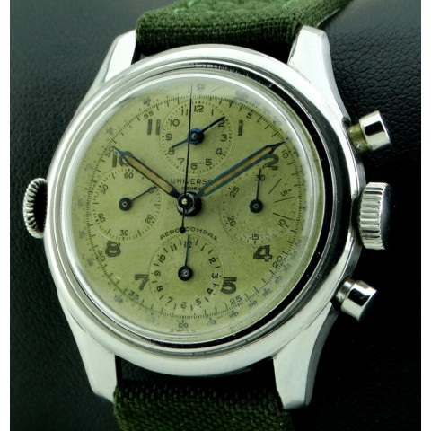 Aero-Compax Chronograph, Ref. 22290, Around 1950
