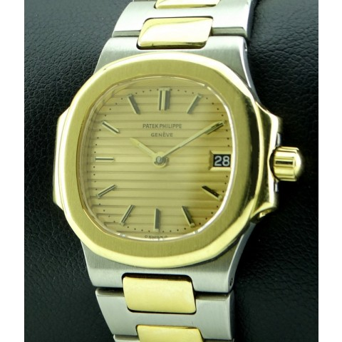 Nautilus Lady Steel and 18kt  Yellow gold, ref.4700