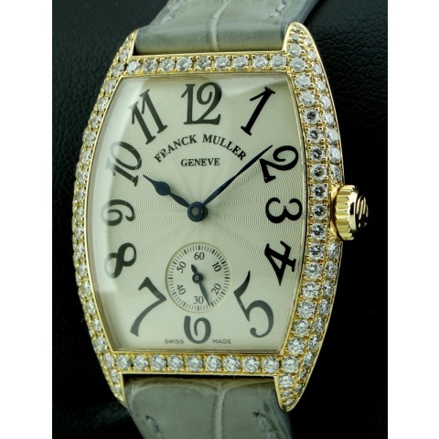 Cintree Curvex 18kt rose gold and diamonds, ref.7502
