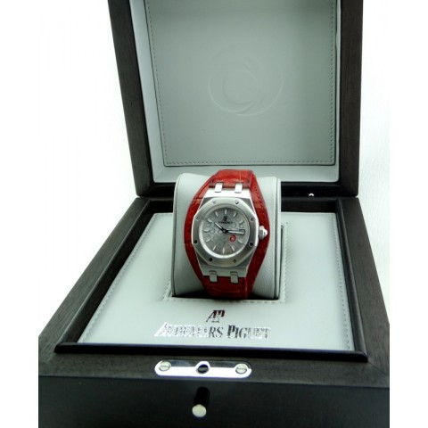 Royal Oak Ladies Alinghi, Silver Dial, Limited Edition to 500 Pieces, full set