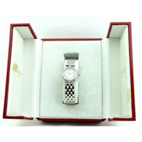 Panthere Ronde Lady 18kt White Gold and Diamonds