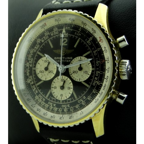 Navitimer Gold Plated, ref.81800, from seventies