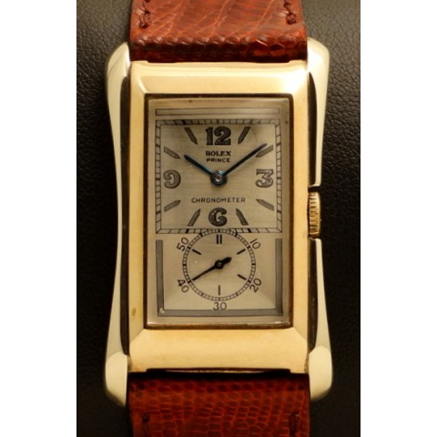 Prince Brancard  Ref. 1541, White and Yellow Gold, made 1938