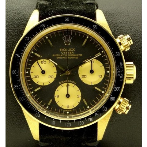 Daytona ref.6263 18 kt Yellow Gold