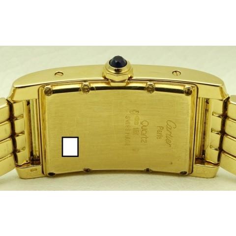 Tank Americaine Medium, 18 kt yellow gold