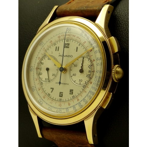 Vintage Chronograph in 18kt rose gold