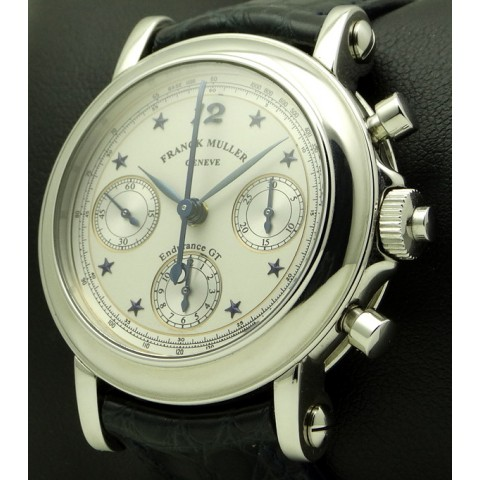 Endurance GT, stainless steel double-chronograph ref.7000 R