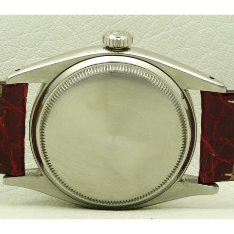 Red Datejust in Stainless Steel, made in 1953