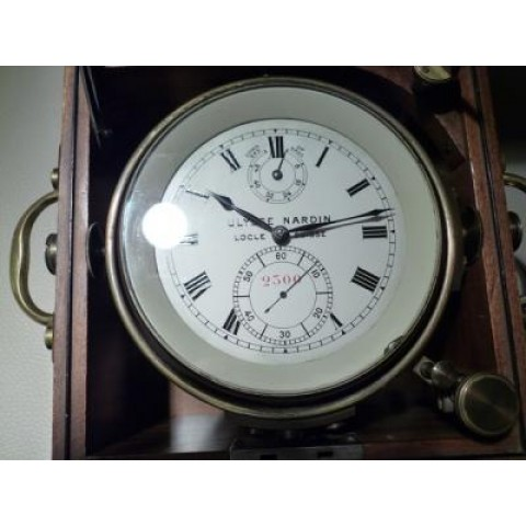 Marine Chronometer from 1927 with Certificate