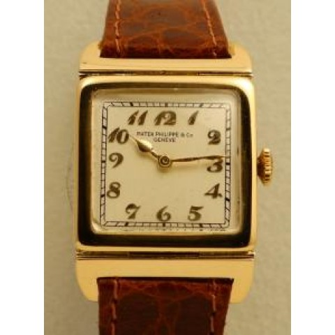 Square vintage collection, 18K Yellow Gold, made 1922