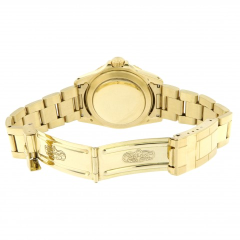 Submariner Date 18kt Yellow Gold, ref.1680 Purple Dial