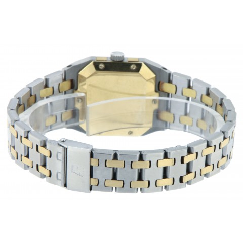 Royal Oak Lady, Stainless Steel and 18kt Yellow Gold ref. 6010SA from 80s