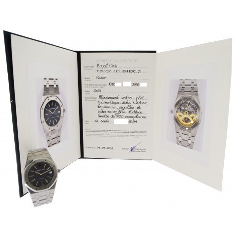 Royal Oak Jubilée Ref. 14802ST Grey Dial, with Certificate