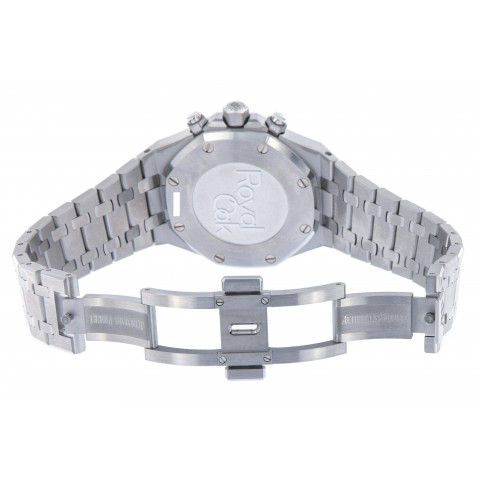 Royal Oak Chronograph 38mm Stainless Steel, 26315ST, Ruthénium-toned Dial, New