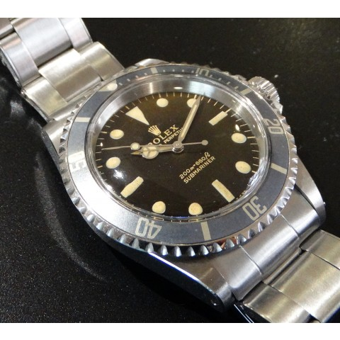 Submariner Vintage Ghost ref. 5513 Gilt Brown Dial, from 1967
