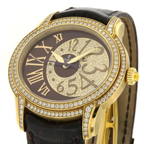 Millenary Precious Diamond-Set 18K Yellow gold, full set