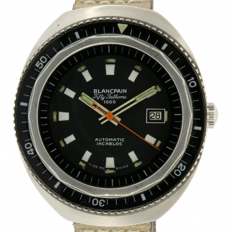 Fifty Fathoms 1000 Diver, Stainless Steel, from 60s