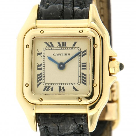 Panthere Lady PM ref. 107000M, 18 kt yellow gold, full set