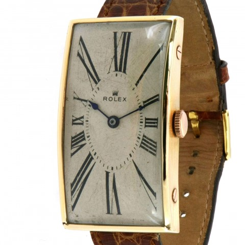 An early and extremely rare, Oversize 18k Rose Gold made in 1908