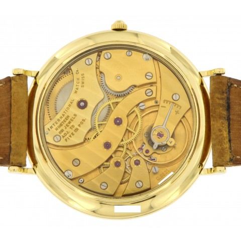 Portofino Moonphase Ref.5251 18kt Yellow Gold, manual winding, with Certificate IWC