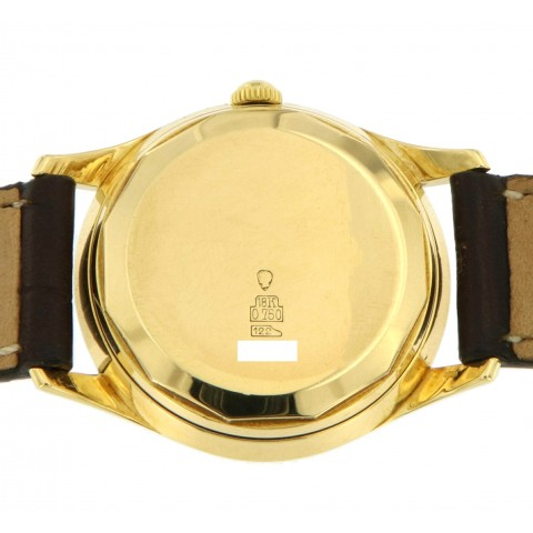 Very Rare Vintage Rayville 18kt Yellow Gold Case, from 60s
