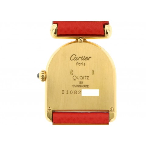 Calandre, 18kt yellow gold, from 80s