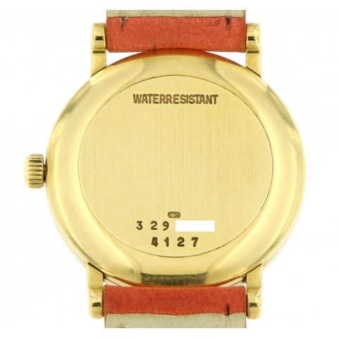 Classic Lady 18kt Yellow gold, Manual Winding, from 90s