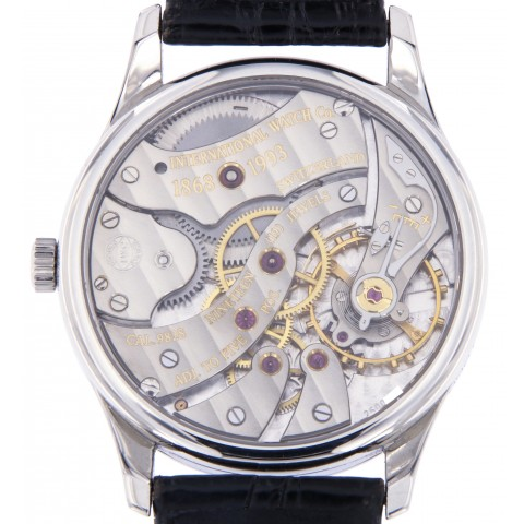 Portugieser 125th Anniversary in Stainless stell, with Certificate