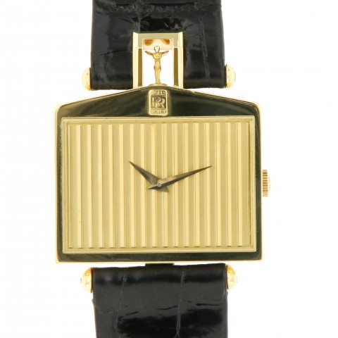 """Rolls Royce """"Spirit of Ecstasy"""" 18kt Yellow Gold, Limited Edition 60 pieces"""