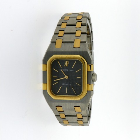 Royal Oak Lady, Yellow Gold/Steel Ref.6005SA