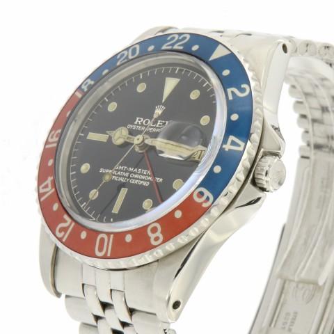 "GMT Master Ref 1675 PCG, ""Cornino"", made in 1961"