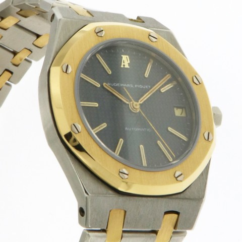 Royal Oak, Stainless steel and 18kt yellow gold
