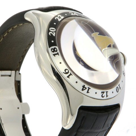 Bubble GMT ref. 383.250.20 in Stainless Steel, full set
