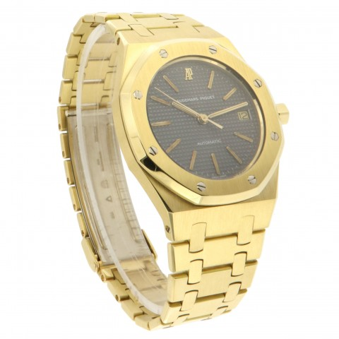 Royal Oak Medium automatic, 18kt yellow gold, Ref. 14486BA, from 80s