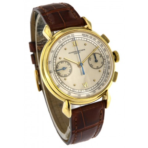 Vintage Chronograph 18kt Yellow Gold, ref.4178, from 1942