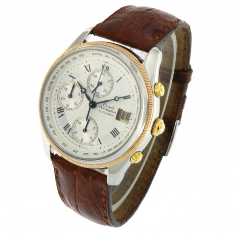 Olimpico Chrono Stainless Steel and Rose Gold, ref. GP 4900, full set