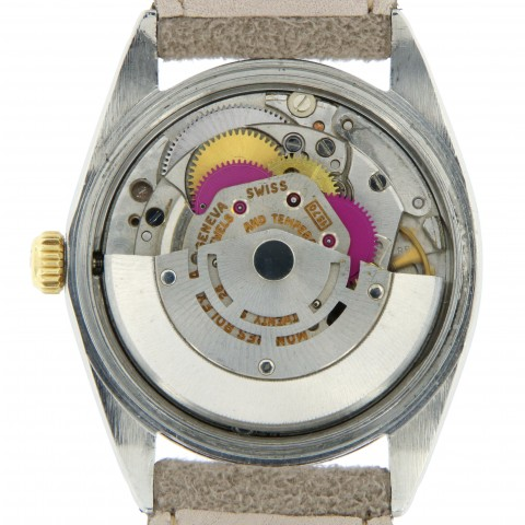 Zephyr ref. 1038 stainless steel and yellow gold from 1968