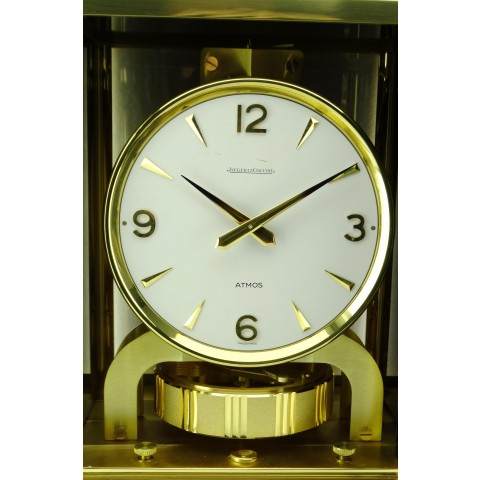 Atmos table clock, engraved by Mr.Marina
