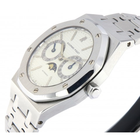 Royal Oak DayDate Moon phases, stainless steel, Ref. 25594ST