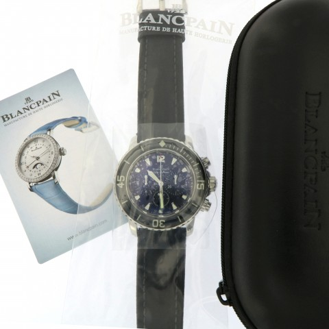 Fifty Fathoms Chronograph Flyback, Full Set from 2008