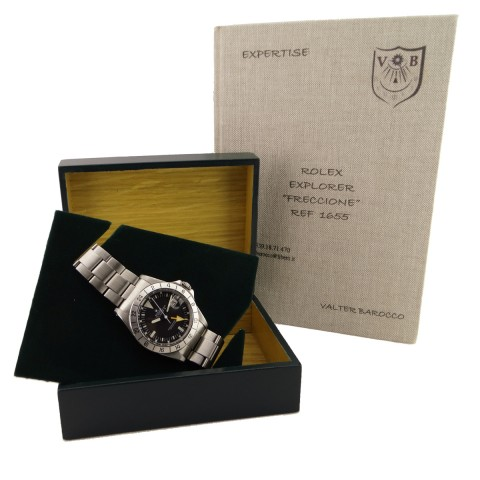 "Explorer II Ref.1655 called ""Freccione"" or ""Steve McQueen"" Mark I"