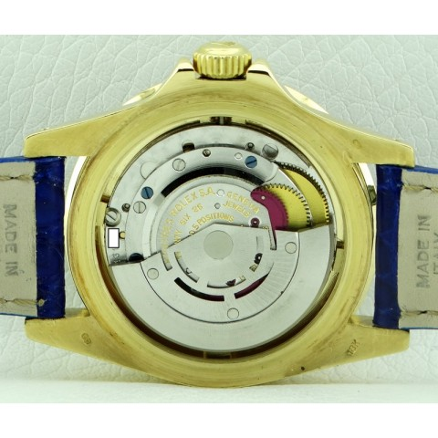 Vintage Submariner Date 18kt Yellow Gold, ref.1680, Blue Dial