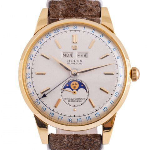 "Extremely rare Reference 8171 Triple Date Moonphase, so called ""Padellone"""
