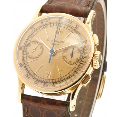 Rare Vintage Chrono ref.533, 18kt rose gold from forties
