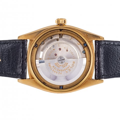 "Ref. 6062 Oyster Moonphase Star Dial so called  ""Stelline"" 18 kt yellow gold"