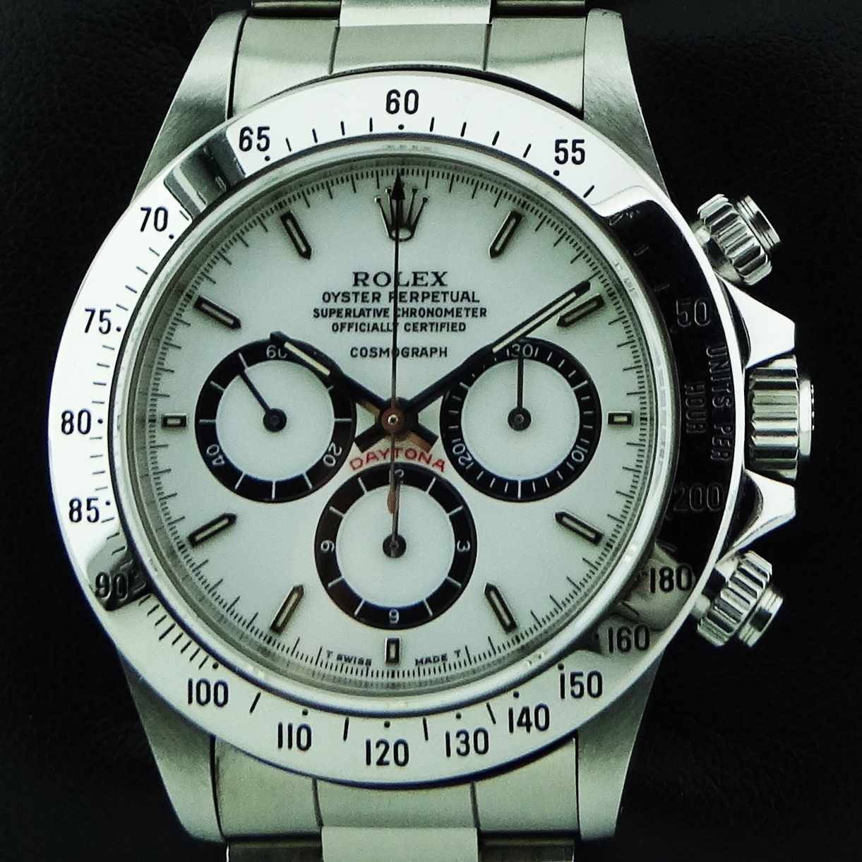 Rolex, Daytona ref. 16520 Porcelain floating dial, Steel